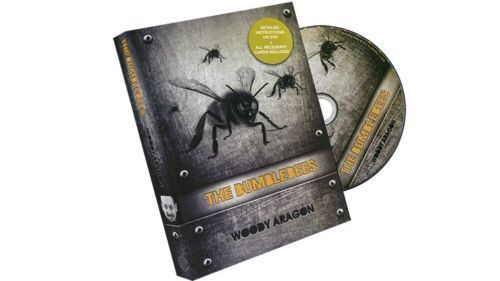 The Bumblebees (DVD and Cards) by Woody Aragon - Magic Tricks