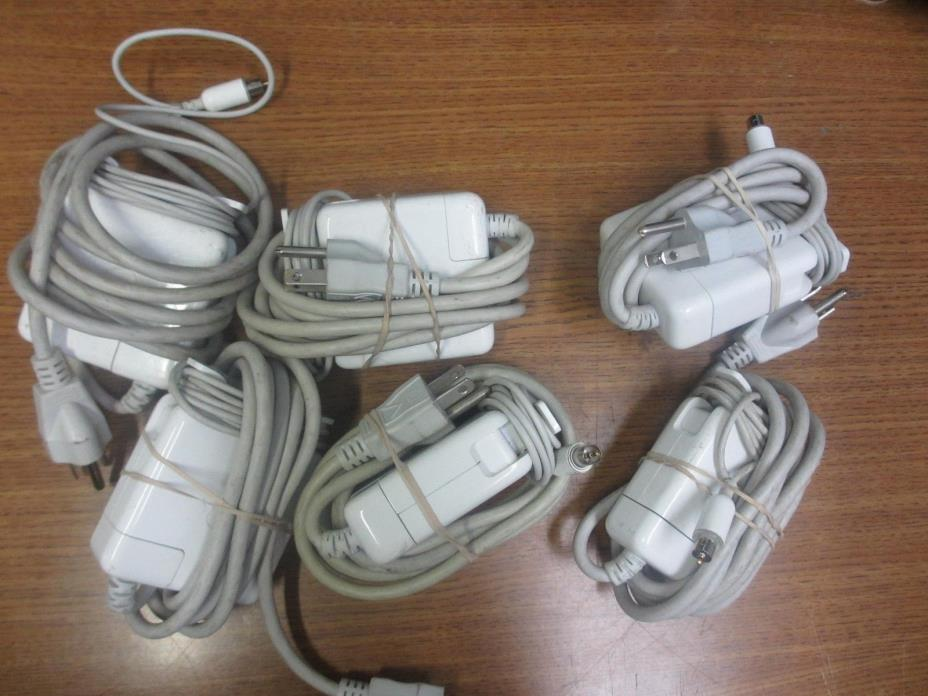 LOT OF 6 APPLE A1021 65W AC Adapter Pwr Supply Charger PwrBook G4 G3 iBook Mac