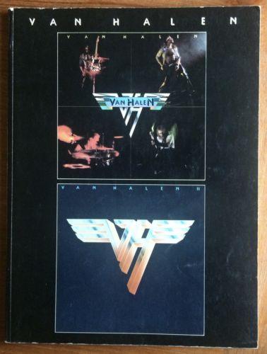 1980 Van Halen I & II Songbook