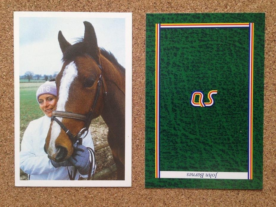 QUESTION of Sport Photo Quiz card Horse Rider Equestrian Event VIRGINIA LENG