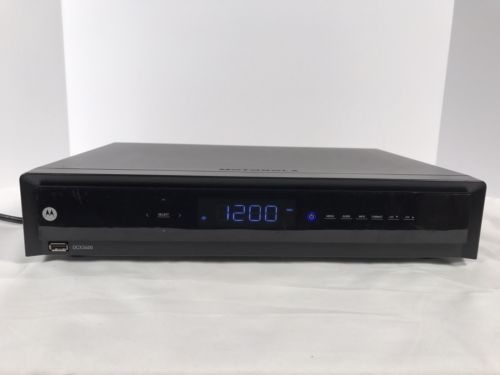 Motorola Dvr Cable Box - For Sale Classifieds