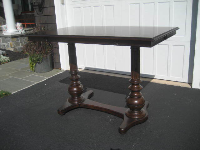 FRONTGATE BAR HEIGHT TABLE - NEVER USED