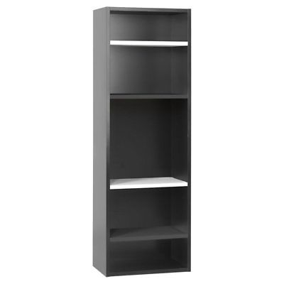 Voelkel Young Users Open Bookcase, Black