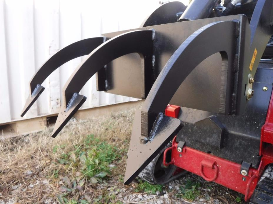 Toro Dingo Mini Skid Steer Attachment - 3 Tine Ripper Soil Tiller - Ship $69