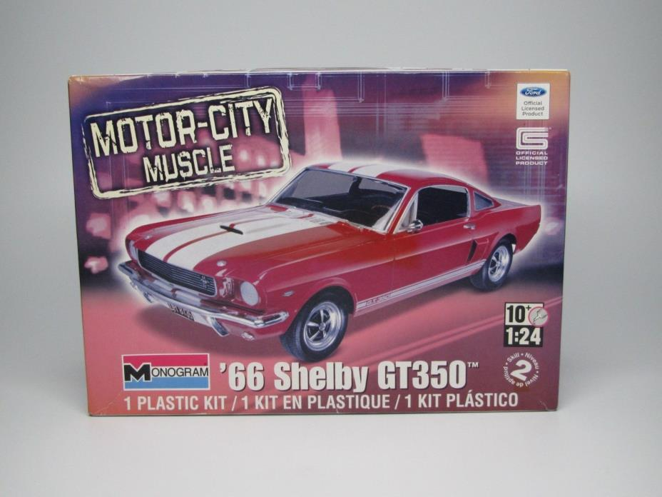1966 Ford Mustang GT350  1/24 Scale Monogram #85-4293