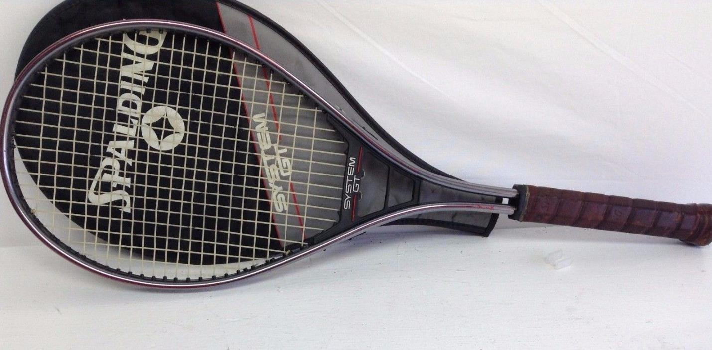 Spalding System GT20 Tennis Racquet 20% Oversize More Power Graphite Reinforced