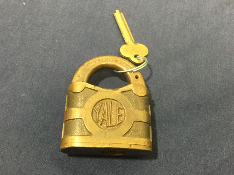 Vintage/ antique  Yale padlock .