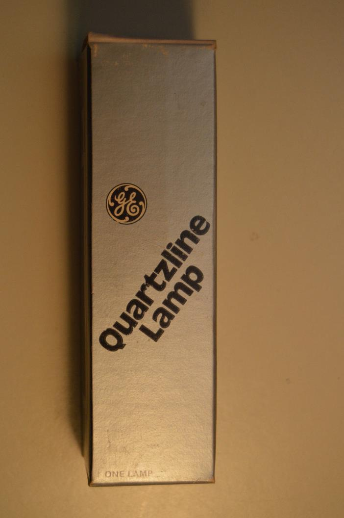 General Electric QUARTZLINE FBY 1000 Watt/120 Volt frosted bulb MADE IN U.S.A.