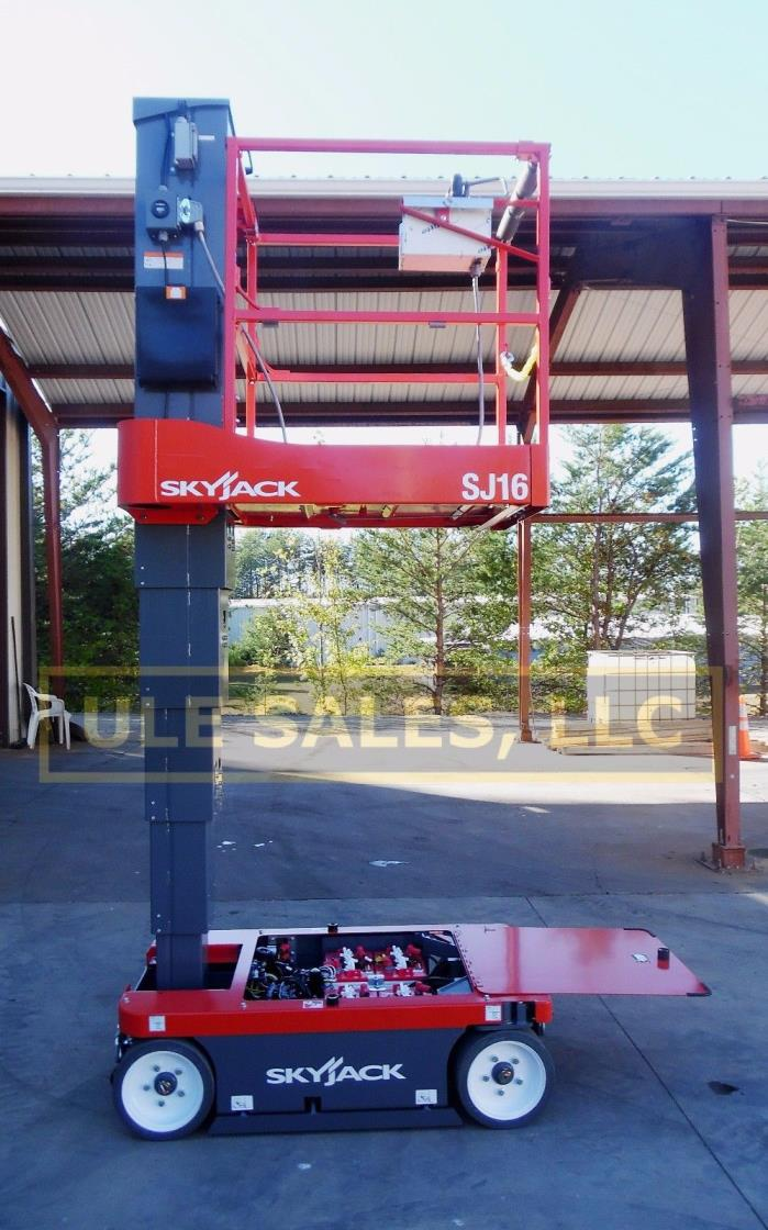 2018 Skyjack SJ-16 vertical  mast  lift - NEW - In-Stock, Door 2 Door Delivery