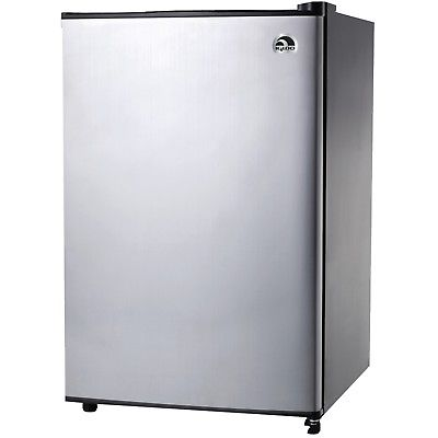 IGLOO FR321I-P-C Igloo 3.2 Cubic-ft Refrigerator with Platinum Finish