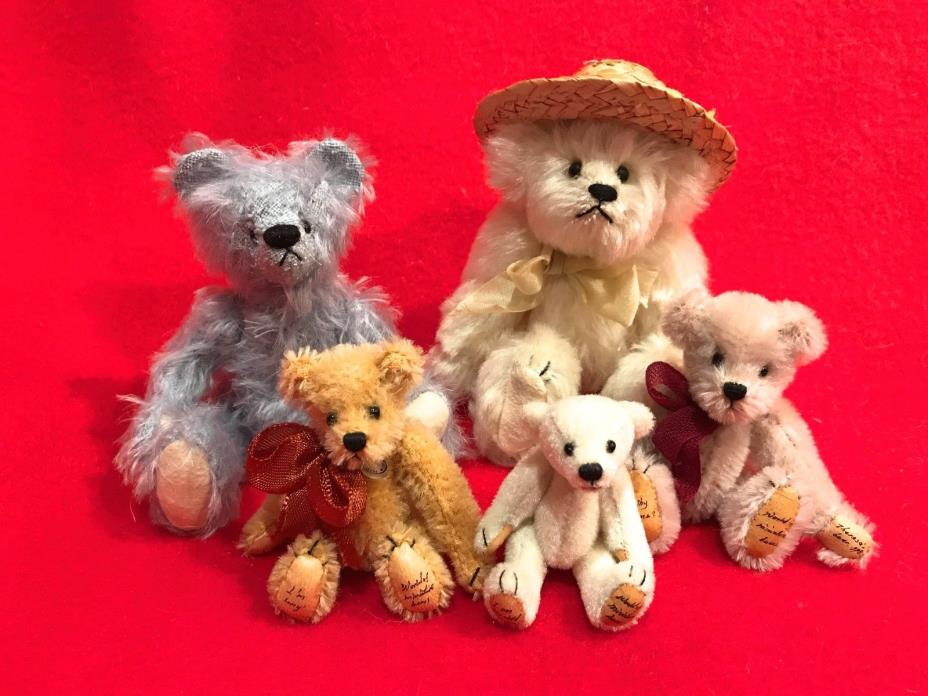 LOT OF 5 BEAR COLLECTIBLES