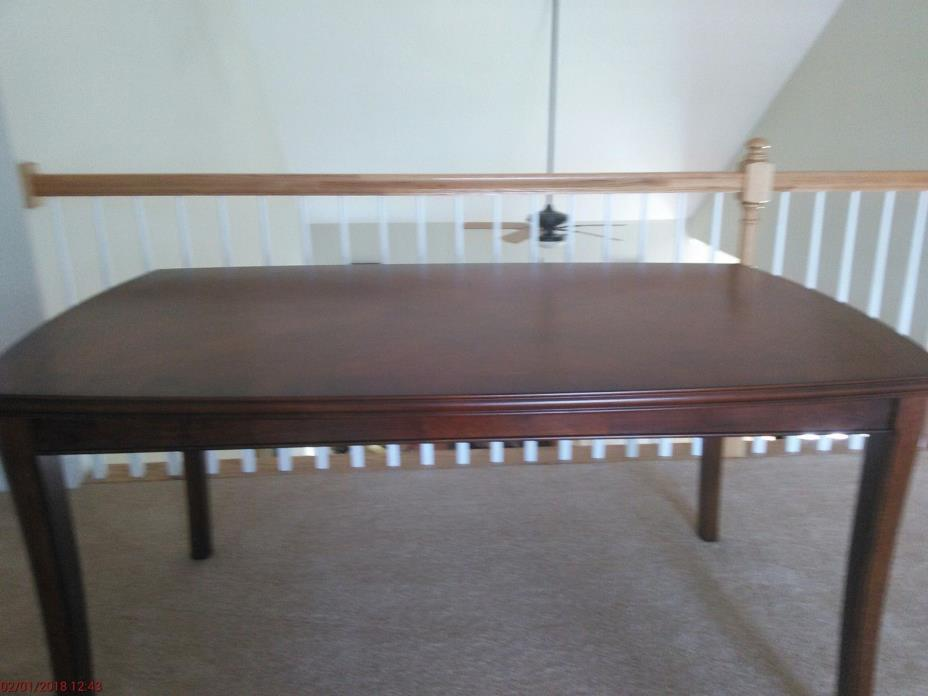 Beckham Wood Dining Table Pecan Color 60Wx30Hx36D 73 lbs. Hardly Used