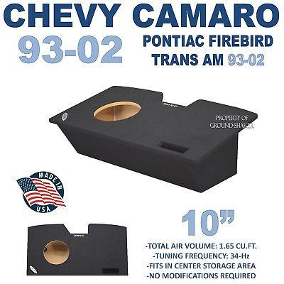 CHEVY CAMARO SUB BOX 10