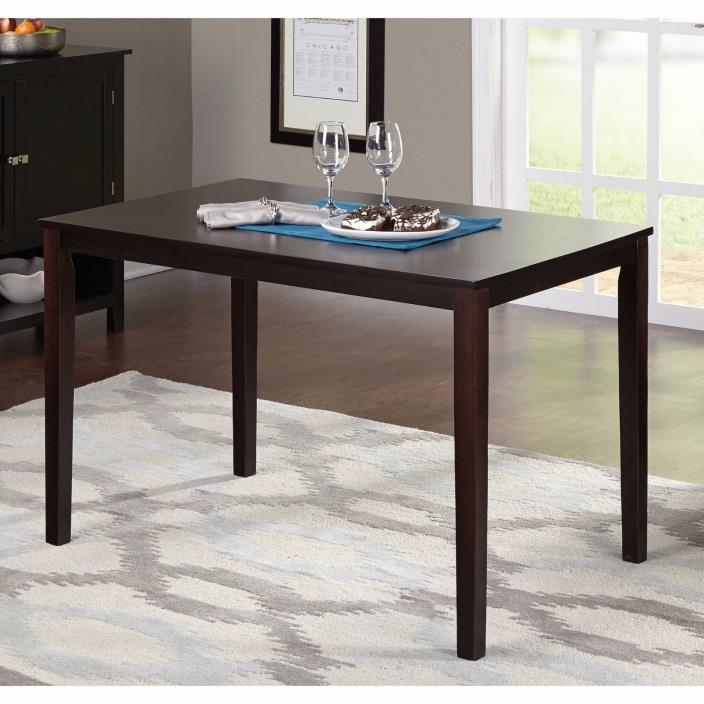 Farmhouse Dining Table Multipurpose Room Space Saver Center Office Modern Wood
