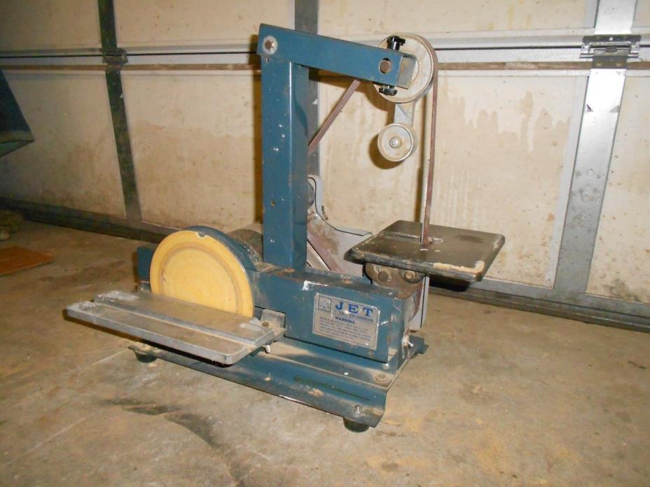 Used Jet Sander-Grinder 1 x 42 in.  Belt and 8