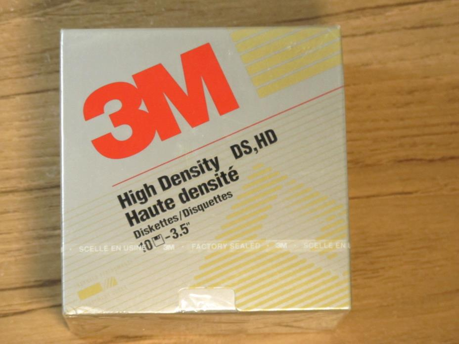 10 New 3M Double Sided High Density 3.5