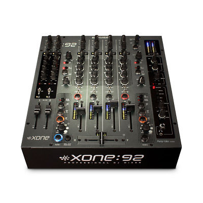 Allen and Heath Xone:92 Fader Professional 6 Channel Club DJ Mixer
