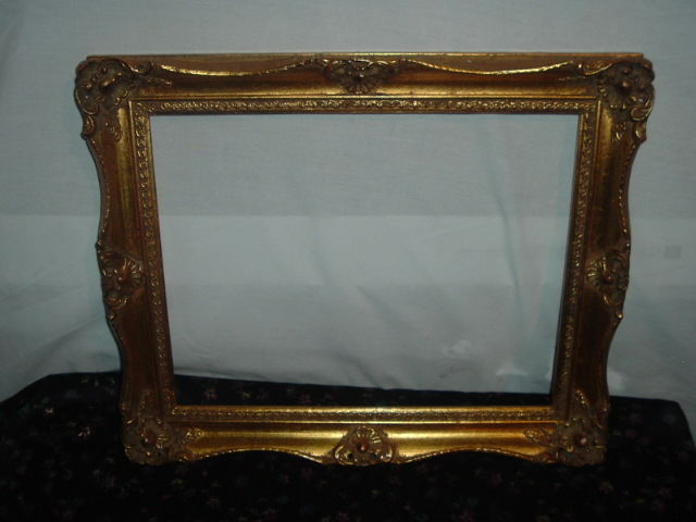 Gold, Wood and Gesso picture frame, 14