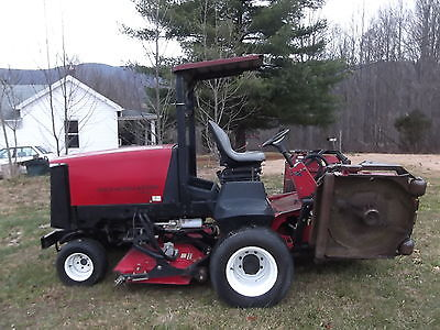 2007 TORO GROUNDSMASTER 4500D 4WD 9FT CUT MOWER Riding Mowers