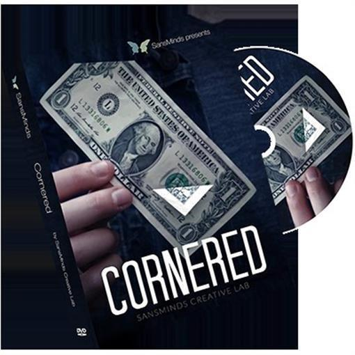 Cornered (DVD and Gimmick Set) by SansMinds Creative Lab - Magic Tricks