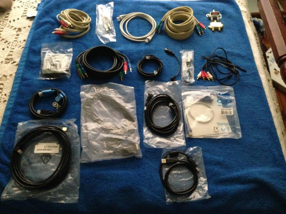 Cables, Cables and More .....