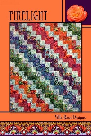Firelight Quilt Pattern Card