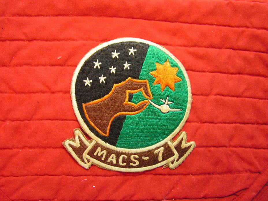 MACS - 7 MARINE CORPS, VIETNAM