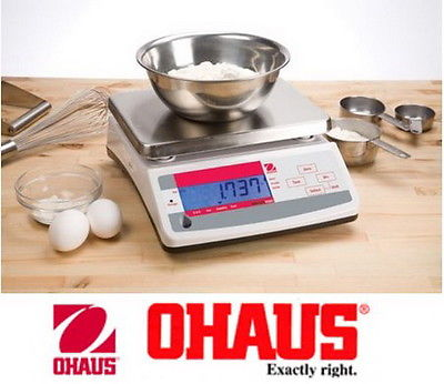 OHAUS Valor Compact Bench Scale Model: V11P6 6kg/13lbs capacity