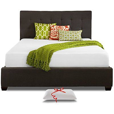 Live And Sleep Resort Classic Twin Size 10 Inch Cooling Medium-Firm Memory Foam
