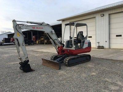 2013 Takeuchi TB235 Hydraulic Rubber Track Excavator Diesel Crawler Mini