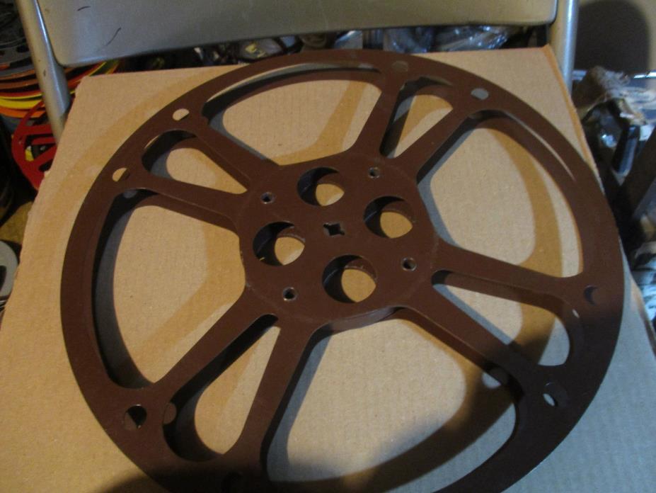 16mm 1600ft  Metal Reel Brown Goldberg Reel 14 inches Reel No 1