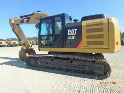 2016 CATERPILLAR 323FL HYDRAULIC EXCAVATOR CRAWLER TRACK CAT 323