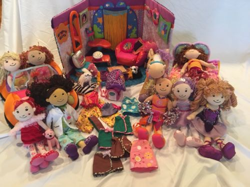 Gently used-Groovy Girls Lot- Dolls, Furniture, Clothes & Accessories