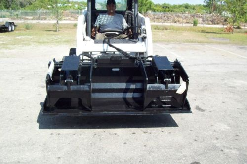 Skid Steer Grapple Bucket 84