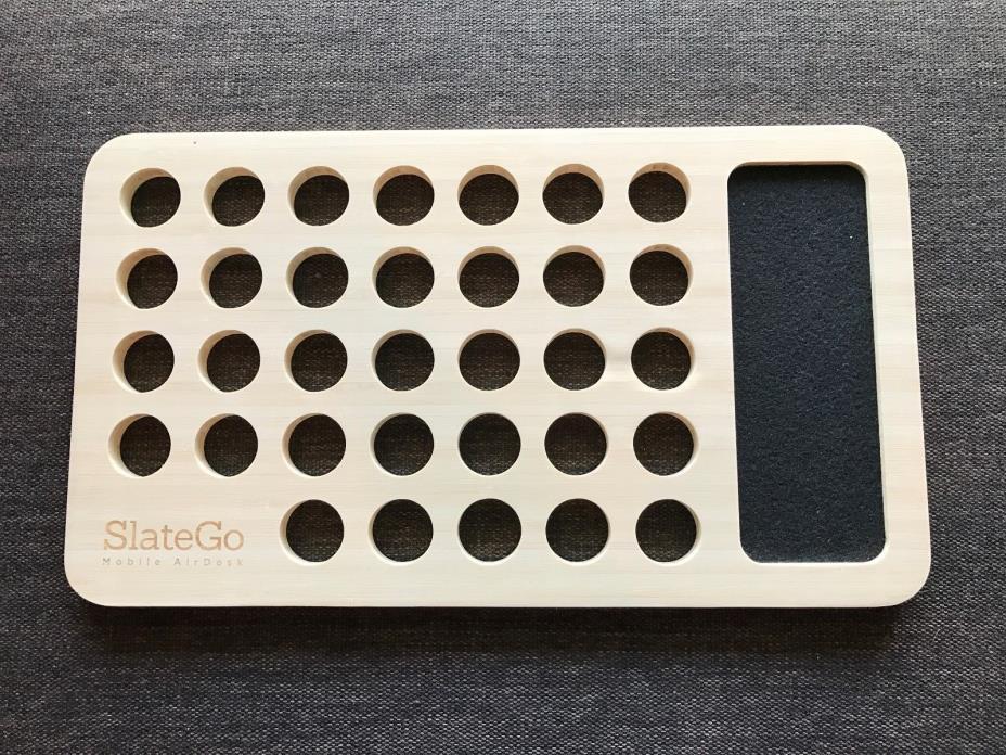 iSkelter SlateGo: Mobile LapDesk - Travel Size Lap Desk (For 13