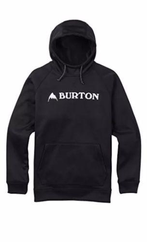 Burton Men's Crown Bonded Pullover True Black Small