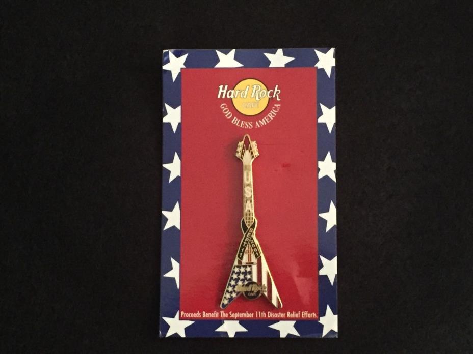 Hard Rock Cafe pin honoring 911 - NO RESERVE!
