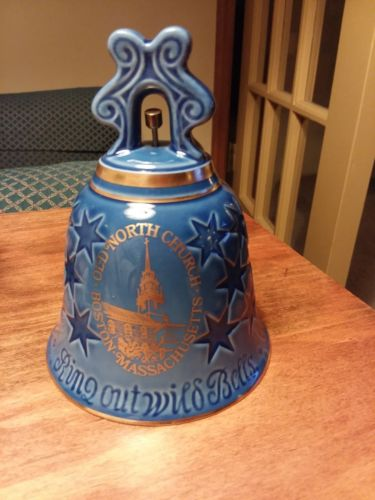 Bing & Grondahl, 1976 Porcelain Old North Church - Christmas/New Year Bell