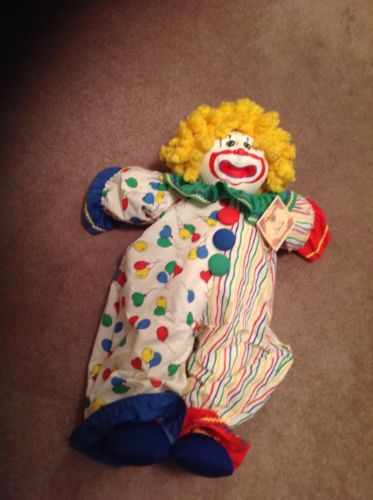 Baby Cakes Clown Cabbage Patch Kids Limited Edition Big Top Clown Soft Sculpture