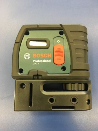 Bosch Professional GLP5 5 Point Self Leveling Alignment Laser