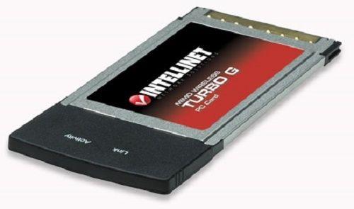 Intellinet MIMO Wireless Turbo G Laptop PC Card (502184)