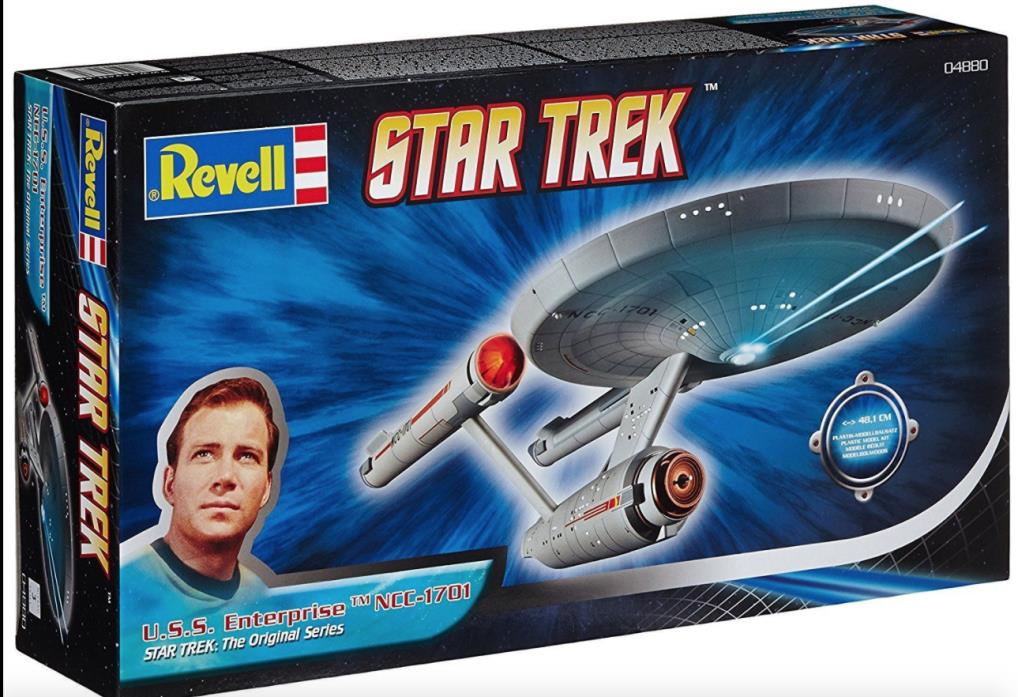 U.S.S Enterprise NCC-1701 Star Trek Original Series Revell 1:600 Lv. 3 Model Kit