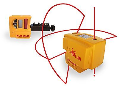 PLS 4 Cross Beam & Plumb Line Laser System with Detector