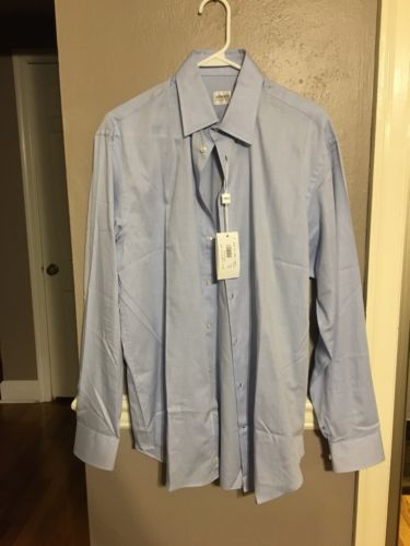 Armani Collezioni Men's Dress Shirt NWT 39/15-1/2 R - Retails $195