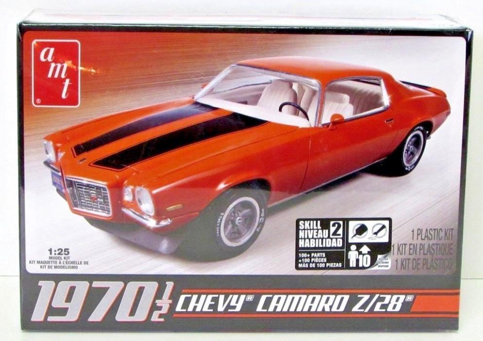 1970 1/2 Chevy Camaro Z/28 AMT 635 1/25 Plastic Car Model Kit