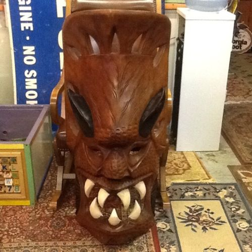 Biggest One You've Ever Seen Wood Tribal  Mask Extremely Large