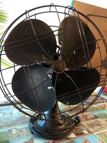 Antique Emerson Electric Fan model 77648-AS 16 in ? Works