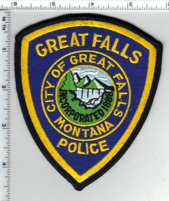 Great Falls Police (Montana) Shoulder Patch - new from the 1980's