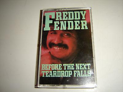 Freddy Fender Before the Next Teardrop Falls (cassette)