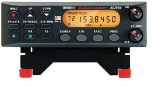 Uniden BC355N 800MHz Analog Base/Mobile Scanner POLICE FIRE RESCUE RADIO